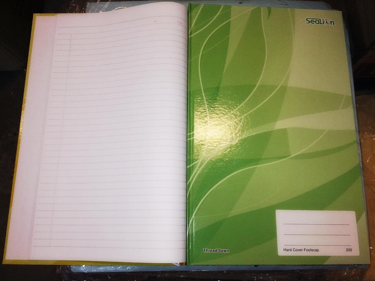 Hard Cover Foolscap Book Flexcos Office Supplies Sdn Bhd